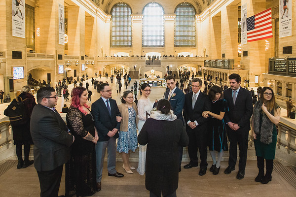 Grand Central Elopement - Irene & Robert-3