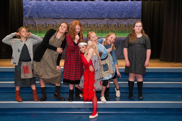 Annie School Play April 2018