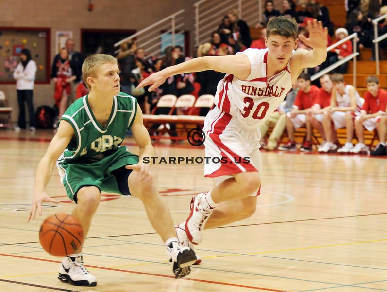 12/1/08<br /> Hinsdale Central HS<br /> <br /> York vs Hinsdale Central boys soph basketball<br /> <br /> Scott Hardesty/www.starphotos.us