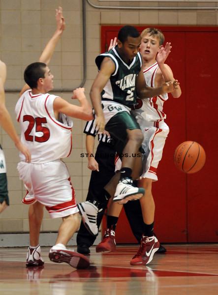 12/05/08<br /> Hinsdale Central HS<br /> <br /> Glenbard West vs Hinsdale Central boys freshman basketball.<br /> <br /> Scott Hardesty/www.starphotos.us
