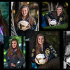 Haley Senior Pictures Collage 2017