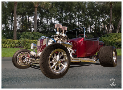 Harry Crawford's 1923 model T roadster