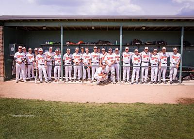 Dugout team photo