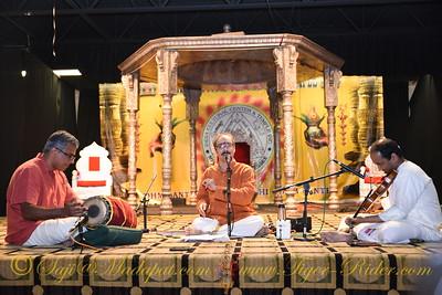 ICCT Prathista Cultural Program: Carnatic Music by Sri. Sankaran Namboodiri, M. Lakshman and Mr. Prasad Mantraratnam