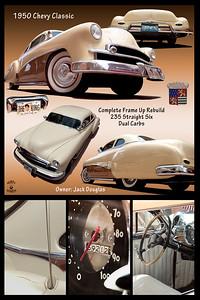 1950 CHEVY, 2105, CHEVROLET, JACK DOUGLAS