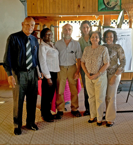 Workshop participants, Falmouth, Jamaica