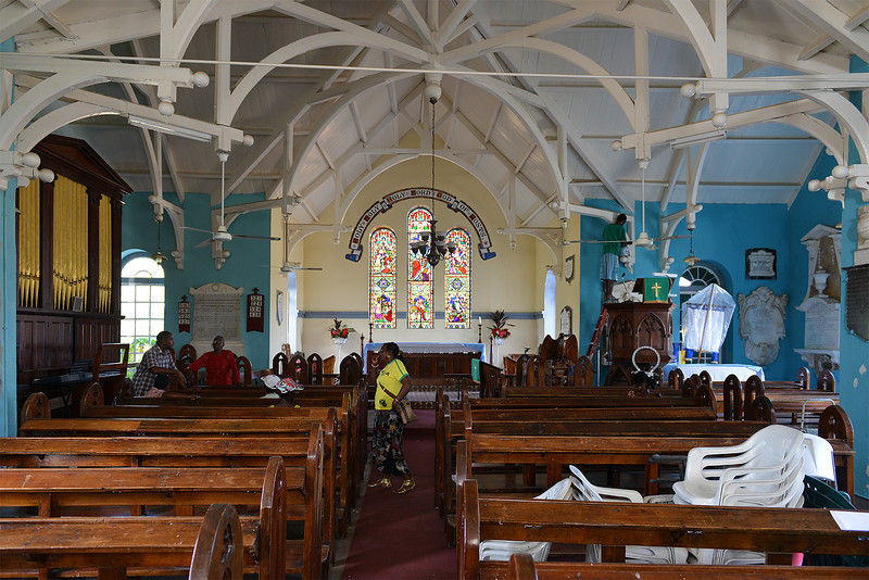 St. Peter's Anglican Church, Alley, Jamaica, by Ted Lee Eubanks.