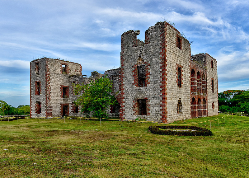 Ruins of Colbeck Castle, Jamaica, by Ted Lee Eubanks. Construction of the castle began in 1655 after the English captured Jamaica from the Spanish and was completed in 1680. It is also believed that the castle was owned by Colonel John Colbeck, a member of the English force of 1655 who subsequently settled in Jamaica and remained in this part of Jamaica until his death in 1682. The castle was most likely built as a defensive fort to fend off attacks from the Spanish, it may also have been used as an opulent residence.