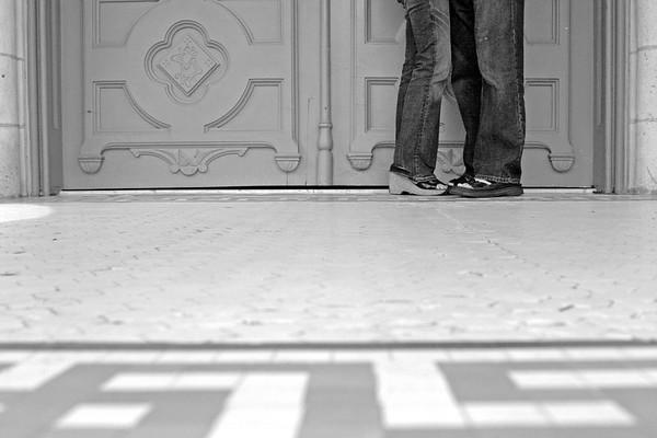 Jason & Erica - downtown Austin - May 24, 2008