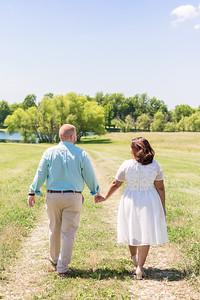 Jenika & Tony's engagement photography at Talon Winery.