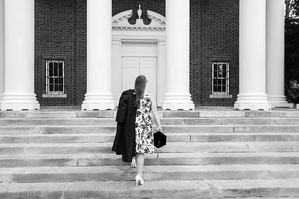 Jessica's College of Pharmacy graduation photos at the University of Kentucky campus.