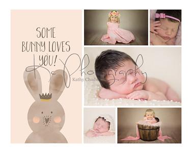 Jodie Cooper Newborn Shoot