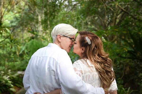 JODIE AND BLANCA MORGAN WEDDING