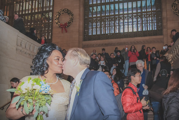 John & Valerie - Grand Central Terminal Elopement-14