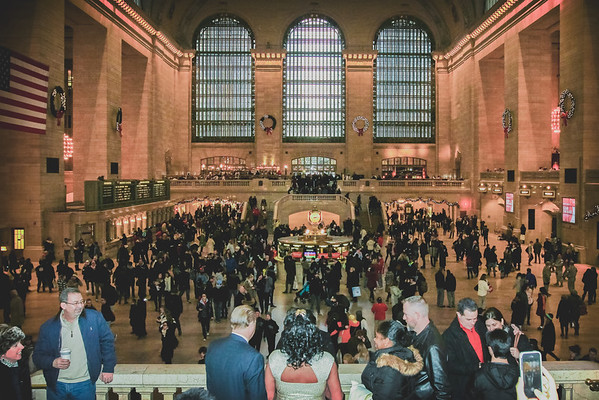 John & Valerie - Grand Central Terminal Elopement-1
