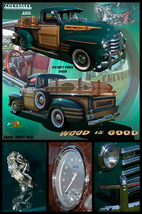 Johnny Angel's 50 Chevy Woodie Pickup