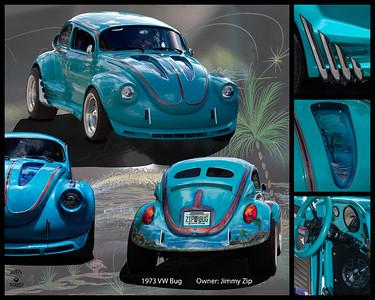Johnny Zip's 73 VW Bug