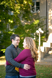 Jordyn & Mark's engagement session at Gratz Park & Kentucky Native Cafe in Lexington, KY 10.16.15.   © 2015 Love & Lenses Photography/ Becky Flanery   www.loveandlenses.photography