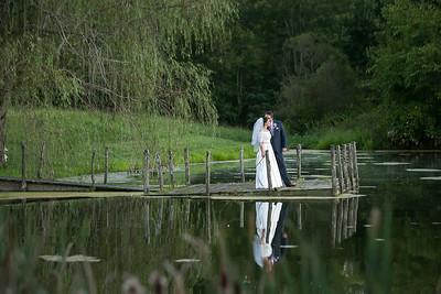 Julie & John's wedding day at the Ashley Inn 9.3.16.