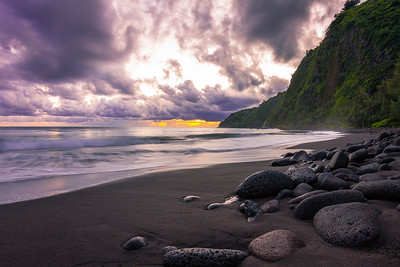 Waipio Sunrise 1