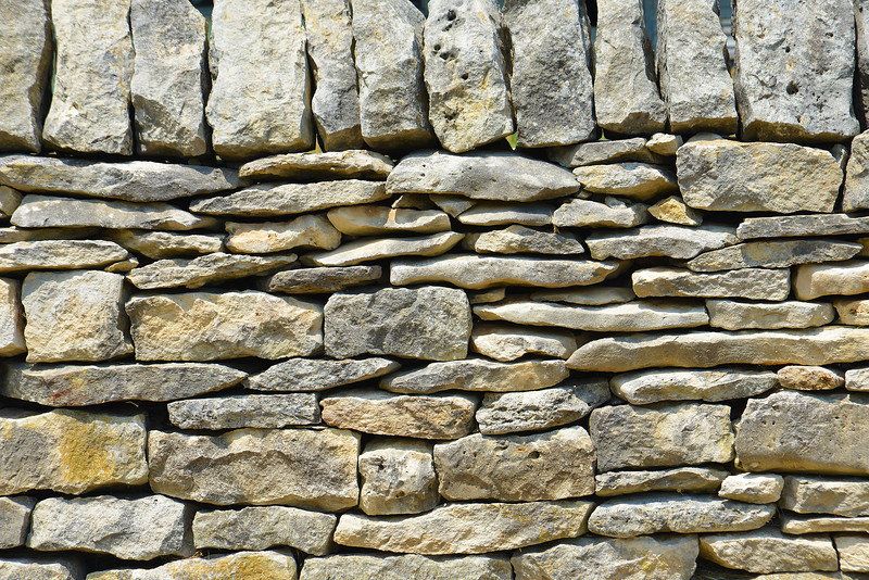 Stone Fence Detail
