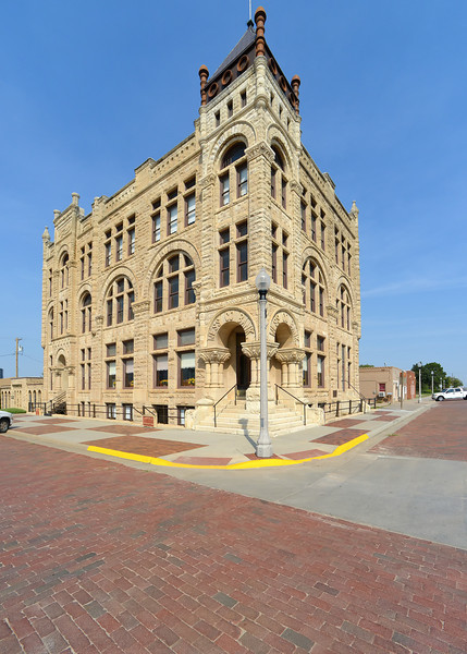 1890 Ness County Bank Building