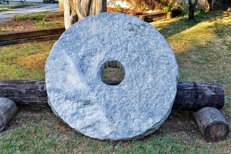 Cottonwood Falls Grinding Stone