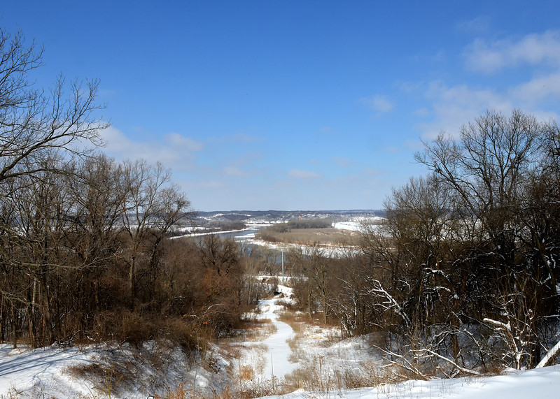View of Missouri River from Quindaro Ruins