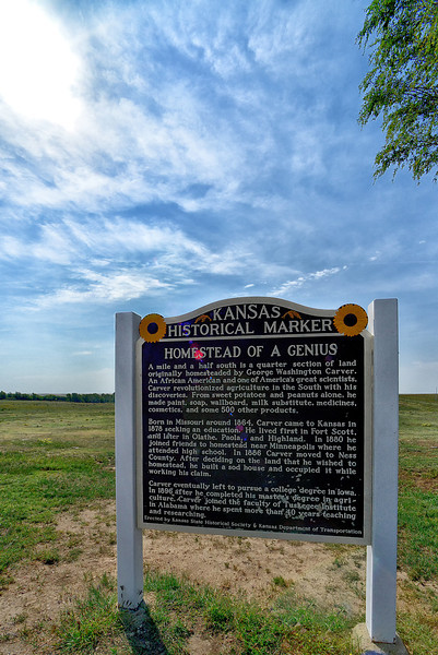 George Washington Carver Historical Marker