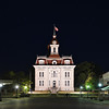 Chase County Courthouse at Night