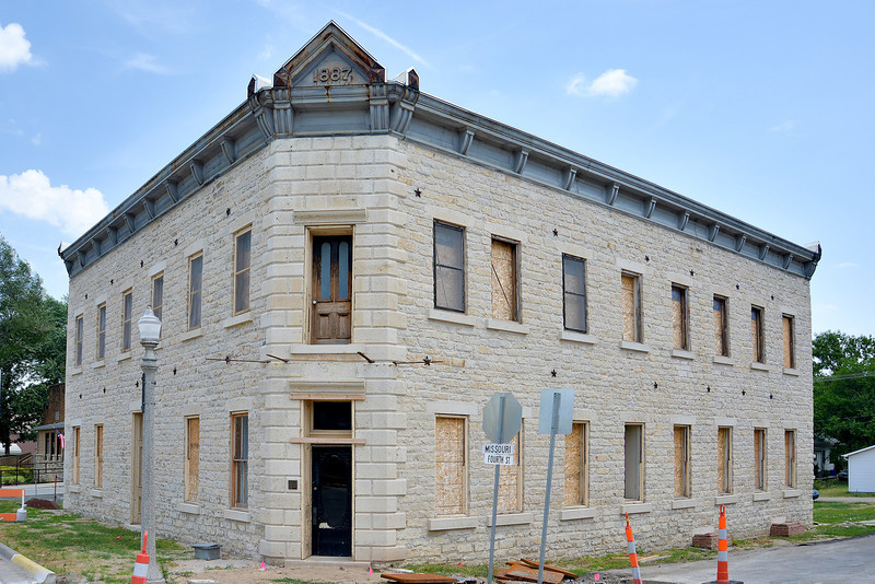 Stone Building Restoration in Alma, KS