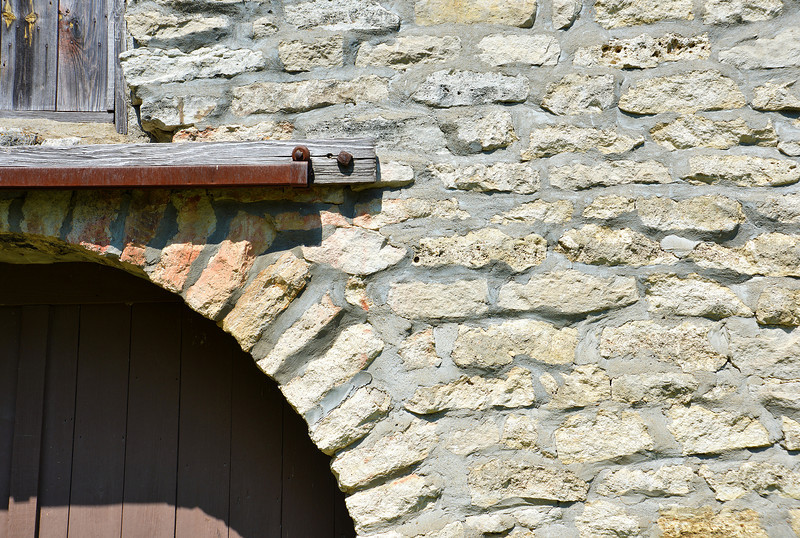 Detail of Native Stone Barn