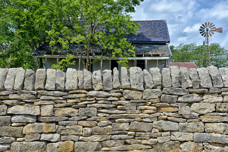 Native Stone Fence