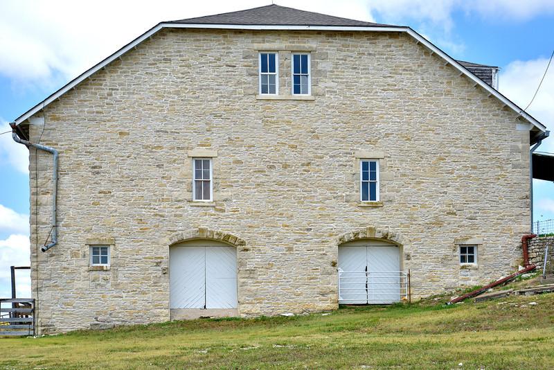 Tallgrass Prairie Preserve Limestone Barn