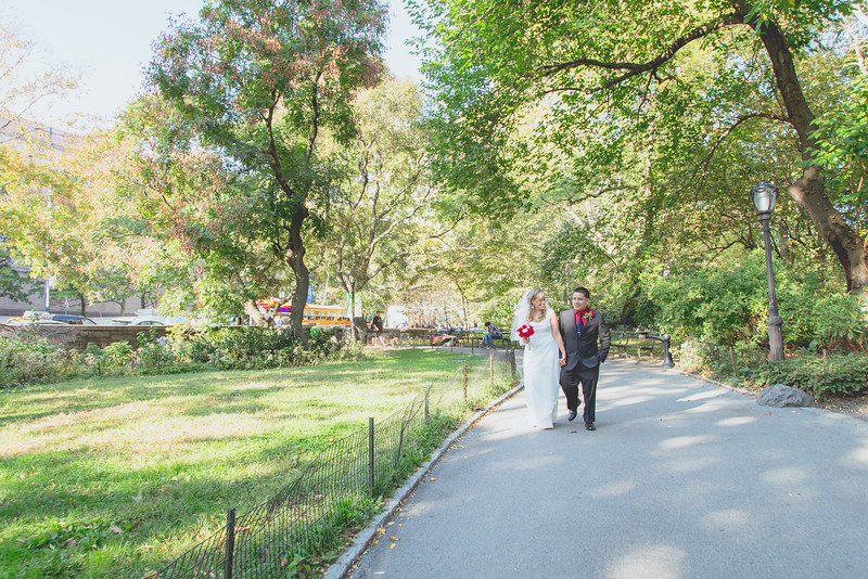 Kara & Enrique - Central Park Wedding-15