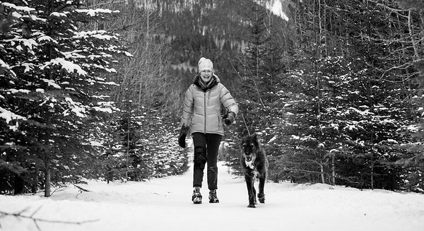 Kat and Rhu, Canmore