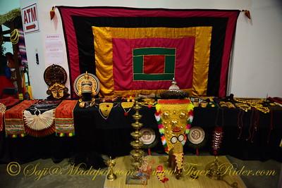 Kathakali Booth - India Fest 2014, Memphis