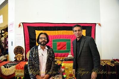 Kaladharan Viswanath (Kerala Kalamandalam) and Rajesh Subramaniam (EVP, Marketing and Communications at FedEx Services)