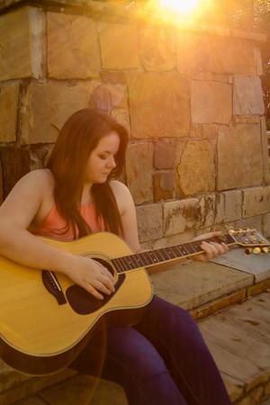 Kayla Sun Guitar-2