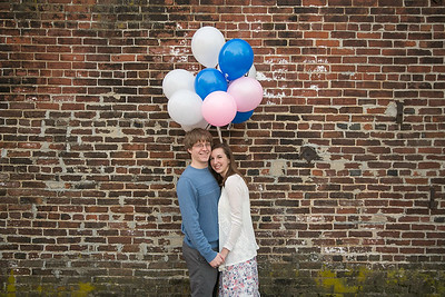 Kelli & Calivin's engagement session in Gratz Park & Downtown Lexington, KY 2.7.15.   © 2016 Love & Lenses Photography/ Becky Flanery   www.loveandlenses.photography