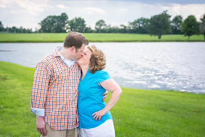 Kim & Erik's engagement session at Talon Winery & Keeneland in Lexington, KY 7.14.15.   © 2015 Love & Lenses Photography/ Becky Flanery   www.loveandlenses.photography