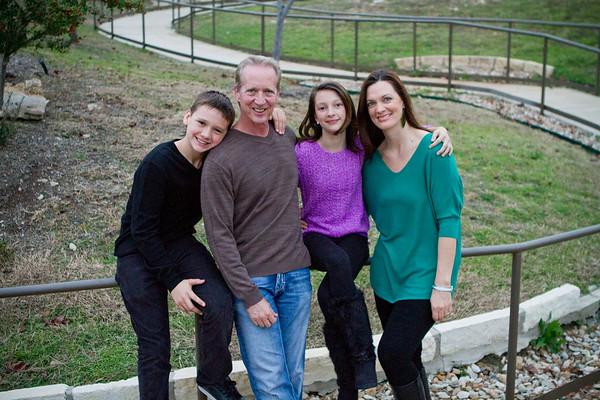 Kloss Family - December 14, 2012