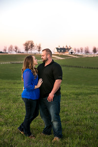 Kristi & Benji's engagement photography at Keeneland in Lexington, KY 3.26.16.  © 2016 Love & Lenses Photography/ Becky Flanery   www.loveandlenses.photography