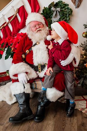 L Kids Santa