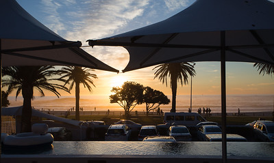 Sundowners with friends
