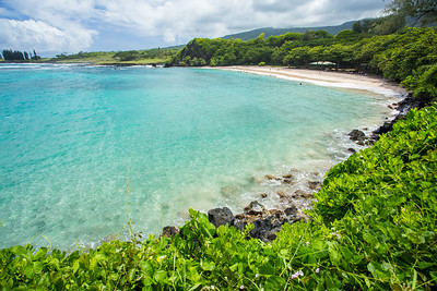 Hamoa Beach  near Hana