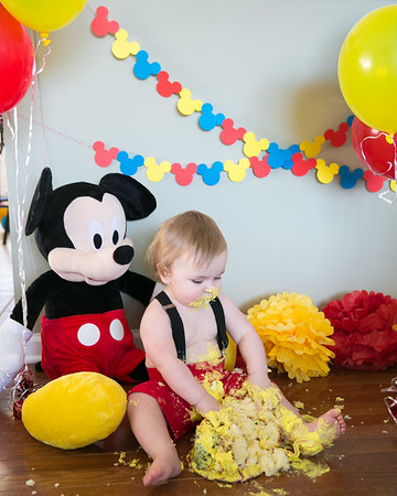 Lane's 1st Birthday & Smash Cake Session in Richmond, KY