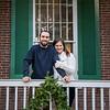 Christmas Mini Session photography at Waveland Historic Site, Lexington, KY 11.19.16.