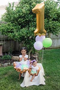 Leighton's First Birthday & Smash Cake Photography