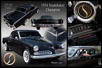 Lex's 1954 Studebaker Coupe